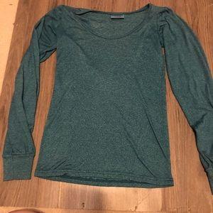 Teal Long Sleeve Shirt